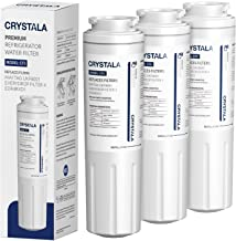 Crystala Filters UKF8001 Water Filter Compatible with Whirlpool 4396395, Filter 4, Maytag UKF8001, EDR4RXD1, UKF8001AXX, U...