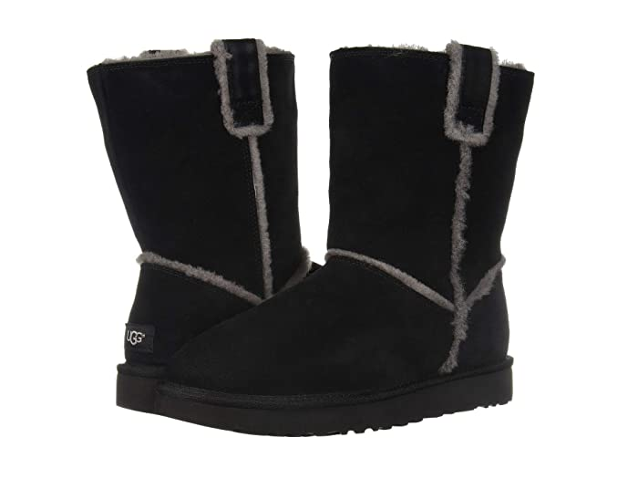 a6011f974 UGG Classic Short Spill Seam Boot at Zappos.com