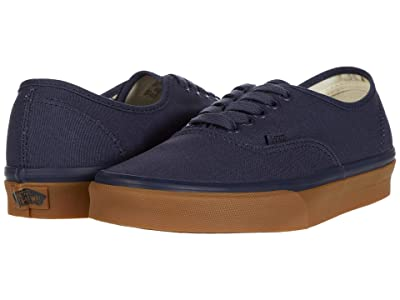 Vans Authentictm ((12 oz Canvas) Parisian Night/Gum) Skate Shoes
