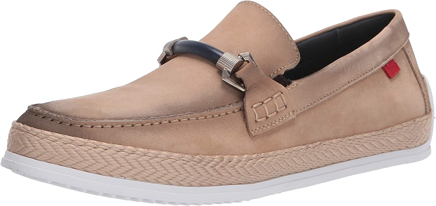 MARC JOSEPH NEW Limited time New popularity for free shipping YORK Men's Leather Bit with Deck Luxury Shoe Buc