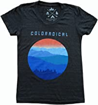 Ages 2-10 Girls Vintage Three Mountain T-Shirt Coloradical