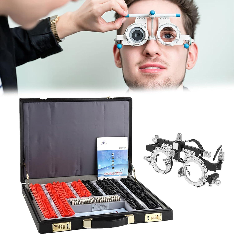 266Pcs Optical Trial Lens Set Arlington Mall Aluminium Limited time cheap sale Case Plastic Rim L