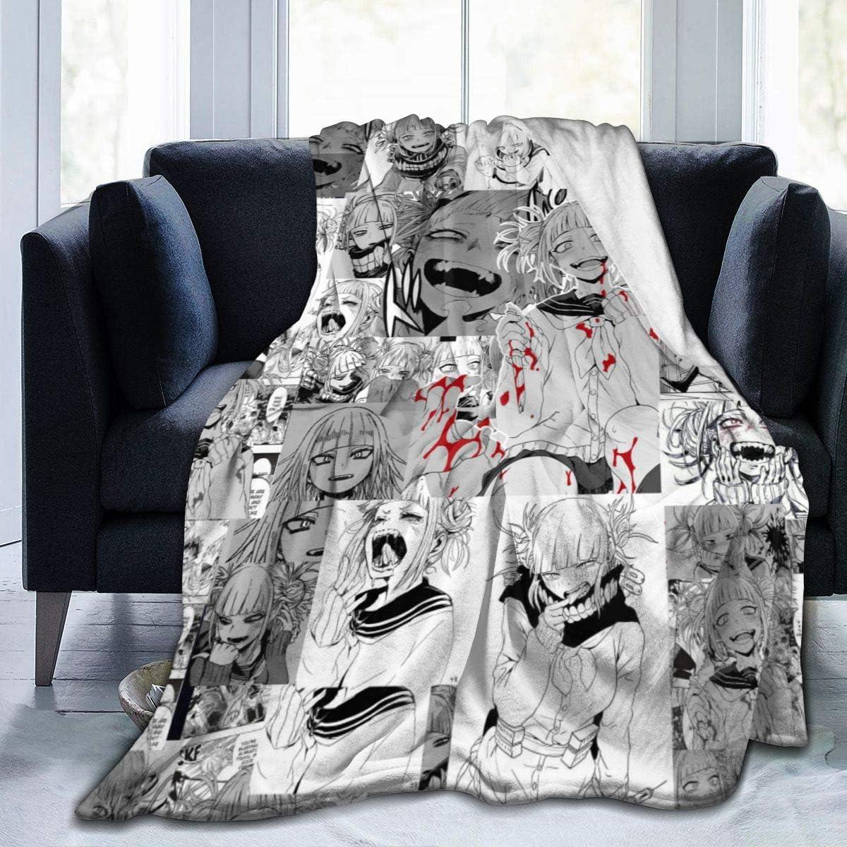 Marrh Himiko Toga Flannel Blanket Hypoallergenic Plus 日時指定 Soft Super SALE