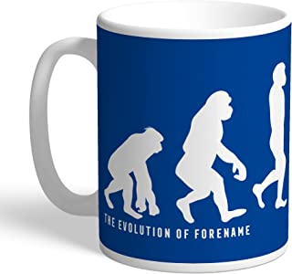Content Gateway Official Personalized Chelsea FC Evolution Mug - Free Personalisation