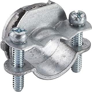 Halex 90513 NON-METALLIC CLAMP CONNECTOR 1/BAG, 1