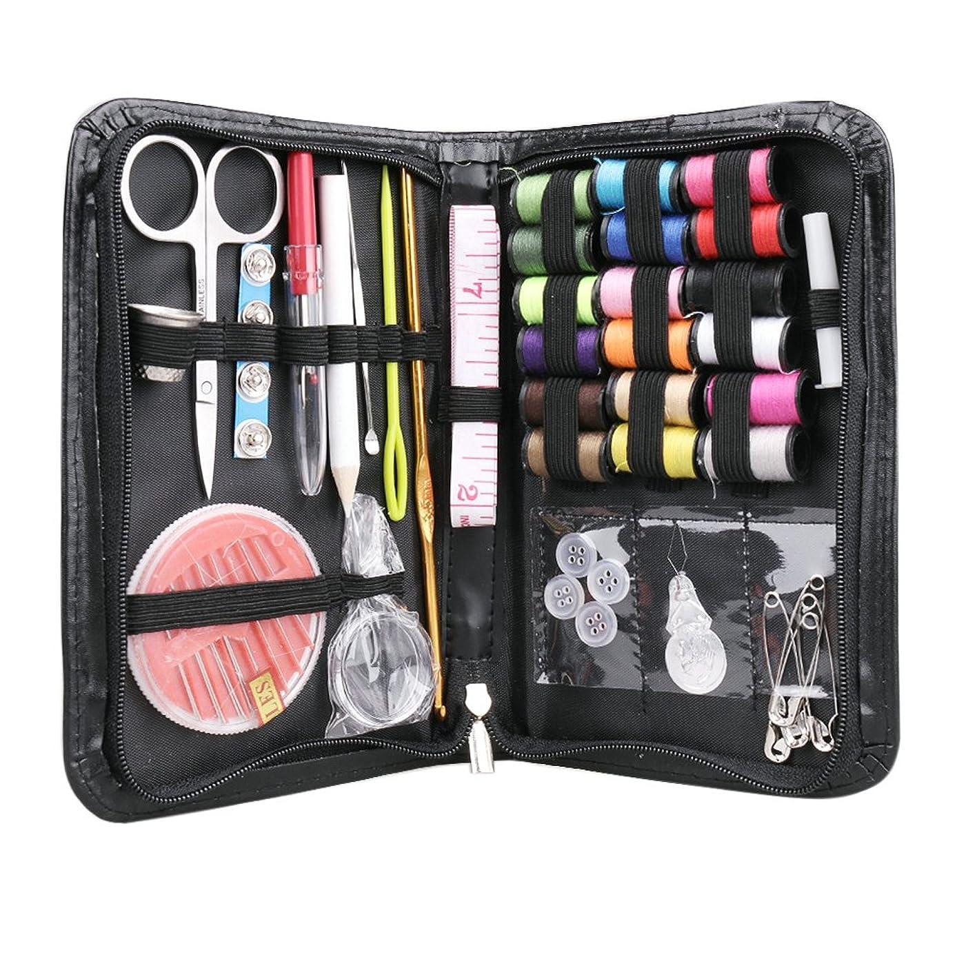Ocean Sewing Kit, DIY & Emergency Clothing Repairs, Zipper Portable & Complete Mini Sew Kit for Traveller Adults Beginner, 43PCE