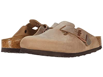 Birkenstock Boston Soft Footbed (Tobacco Oiled Leather) Clog Shoes