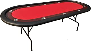 IDS 10 Players Texas Hold'em Folding Legs Casino Poker Table Ver 2