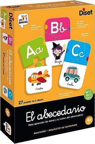 Diset - El Abecedario - Juego educativo para aprender las letras y el abecedario para niños a partir de 4 años