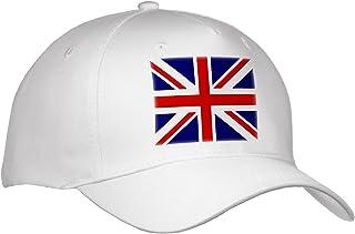 30a5dd0e8 InspirationzStore Flags - British Flag - red white blue Union Jack Great  Britain United Kingdom UK England English souvenir GB - Caps - Youth  Baseball ...