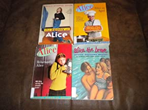 Lot of 4 Alice books ~ Alice in April, Alice the Brave, The Agony of Alice, Reluctantly Alice by Phyllis Reynolds Naylor