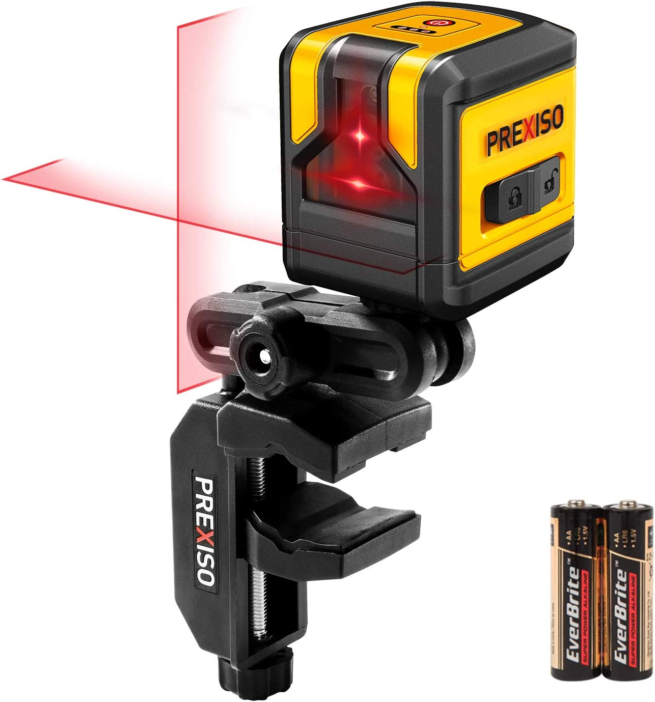 PREXISO 30FT NEW before selling ☆ Bargain Self Leveling Cross Switchable Line Vertical Laser