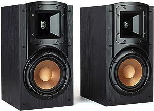 Klipsch Synergy Black Label B-200 Bookshelf Speakers with Tractrix Horn Technologyand Efficient Design