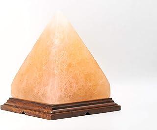 Magic Salt ® Sal rosa del Himalaya GRANDE forma de pirámide de cristal de roca LAMPARA NATURAL HEALING IONIZANTES lámpara de sal