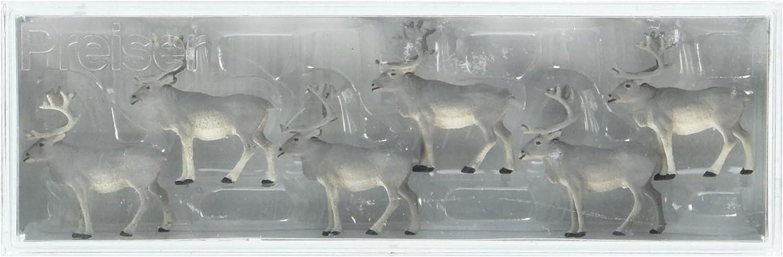 Preiser 20394 Reindeer Package(6) HO Model Figure