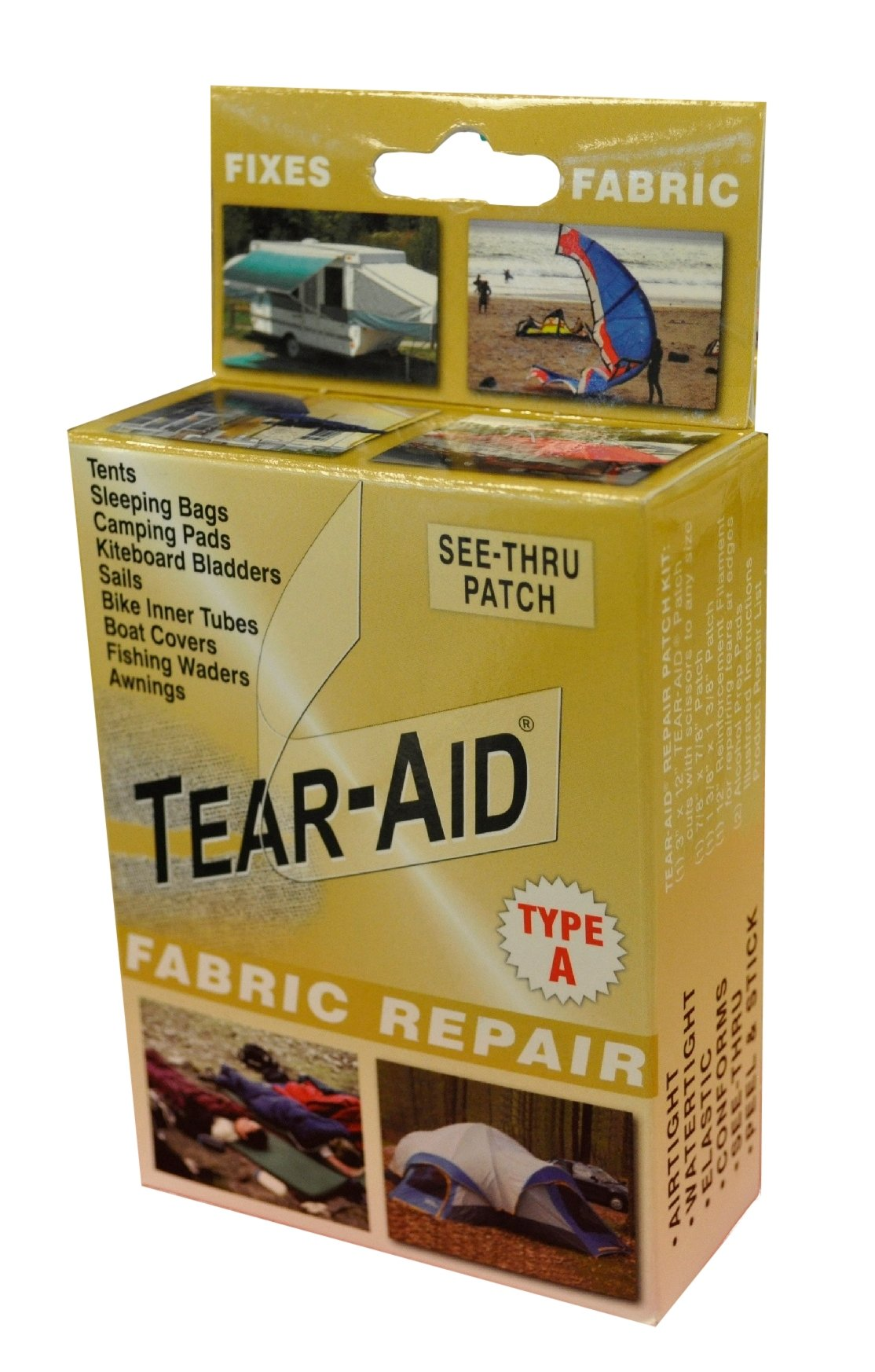 Tear Aid Fabric Repair Gold Type