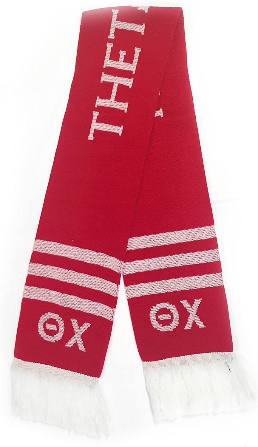 Theta Chi Letter Winter Scarf Greek Cold Weather Winter T Chi