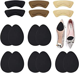 16 PCS Anti-Slip Stick Pad for Shoes, Upgraded Non-Slip Shoes Pads & Heel Cushion Pads, Keep High Heels/Shoes from Slipping and Shoe Pads for Preventing Heel Slipping, Rubbing