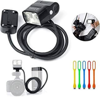 رأس فلاش وصلة 200 وات من GODOX EC200 مع كابل 2 متر مصباح إضاءة بدون كاميرا قابل للحمل متوافق مع Godox AD200، AD200Pro Pock...