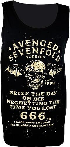 Avenged Sevenfold - Camiseta de tirantes - para hombre negro ...