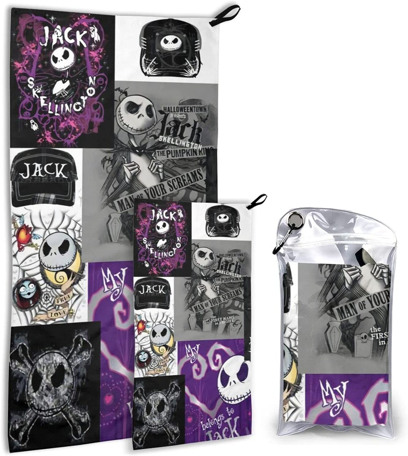 The Tampa Mall Nightmare Before Christmas Animation Time sale Towel-Su Camping Travel