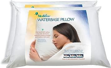 Mediflow Original - Almohada para Base de Agua, Blanco, Two Pillows, 1