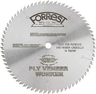 FORREST Ply Veneer 10In x 70T Blade