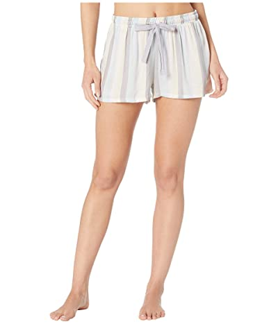 Splendid Woven Sleep Shorts (Soothing Sea Vertical Stripe) Women