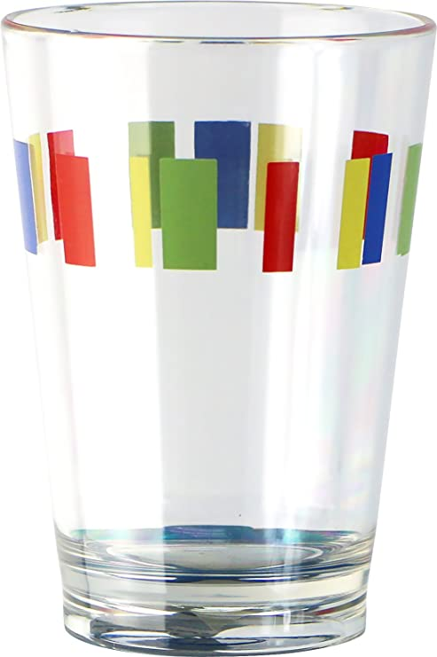 Corelle Coordinates By Reston Lloyd Memphis Acrylic Juice Glasses 8 Ounce Set Of 6 Juice Glasses Kitchen Dining