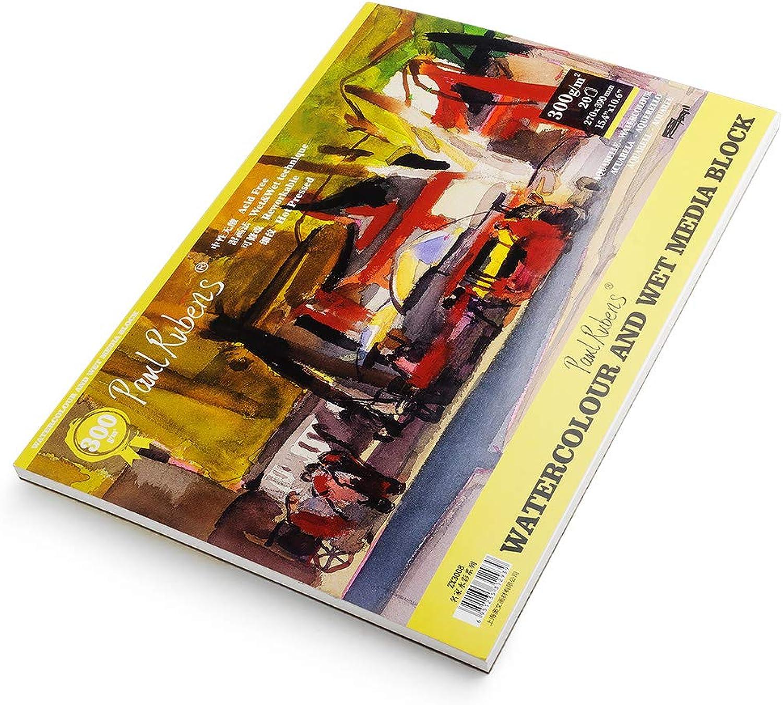 Paul Rubens Aquarell Papier Papier Papier Pad 15.4 x 10.6 inches B07GDHTG2M | Sonderaktionen zum Jahresende  | Angenehmes Aussehen  | Verschiedene Stile  34f5b0