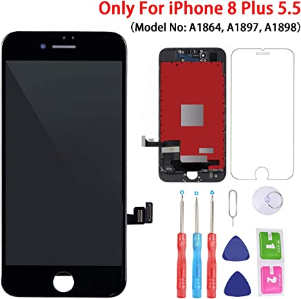 size 40 f4ac4 4eda9 Amazon.com: iPhone 8 Plus - Replacement Parts / Accessories: Cell ...