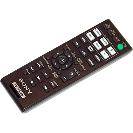SHAKEX30D OEM Sony Remote Control Shipped with SHAKEX10D SHAKE-X30D SHAKE-X70D SHAKE-X10D SHAKEX70D