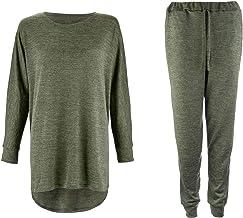 Womens trainingspak set - 2 Stuk Sweatshirt en Joggers Lounge sets voor vrouwen - Comfortabele Womens Loungewear Vrouwen T...