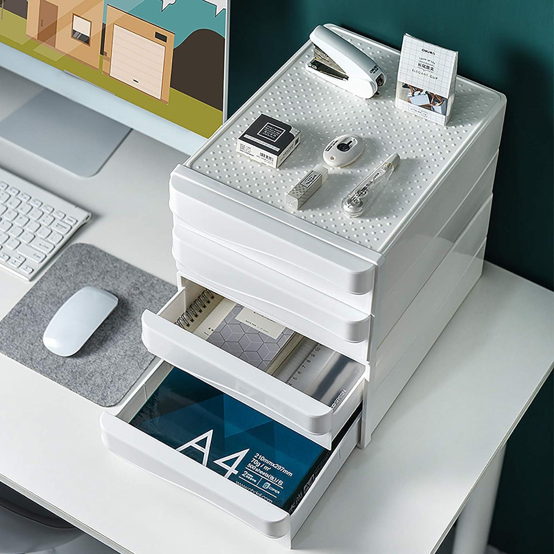 VANRA Desktop Drawer Organizer 2-Drawer System Office Stacking ...