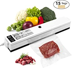 Vacuum Sealer, Etrigger Automatic Vacuum Sealing Machine for Both Dried and Wet Fresh..