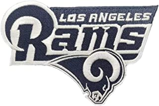 Los Angeles RAMS NFL Embroidered Iron ON Patch 4.4 x 2.9 inches