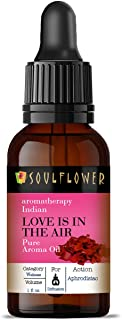 Soulflower Aroma Diffuser Oil - Love is in The Air for Home Diffusers, Potpourri - 100% Pure, Organic, Natural, Alcohol-Fr...