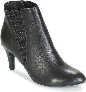 ofrecemos varias marcas famosas ANDRé ANDRé ANDRé Paillette Botines Low botas Mujeres Negro botas de caa Baja  el mas de moda