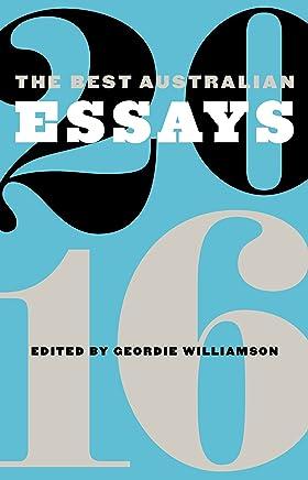 The Best Australian Essays 2016 (English Edition)