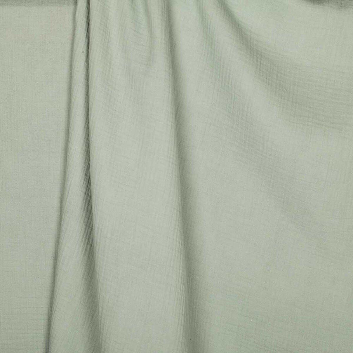 CAREFIL Tejido algodón Doble Gasa – Verde Almendra – par 50 cm – Oeko-Tex ®: Amazon.es: Hogar