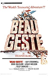 Posterazzi Beau Geste Us 1966 Movie Masterprint Poster Print (11 x 17)