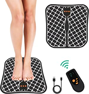 Ben Belle EMS Electric Foot Stimulator Massager, USB Rechargeable Low-Frequency Pulses Massage Foot Circulation Massager B...