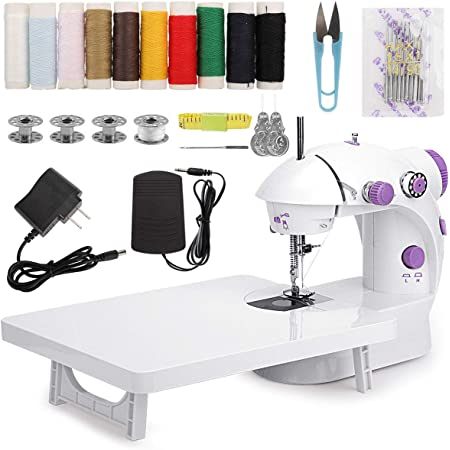 Fabric Quick Household Repairing Stitch Tool for Handicrafts Clothing WIOR Mini Handheld Sewing Machine for Beginners Home Travel Use Portable Cordless Electric Sewing Machine Kids//Pets Clothes