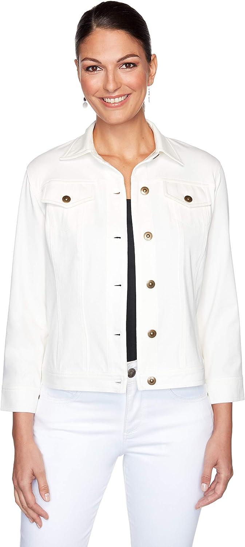 Ruby Rd. Key Item Denim Fabric Jacket