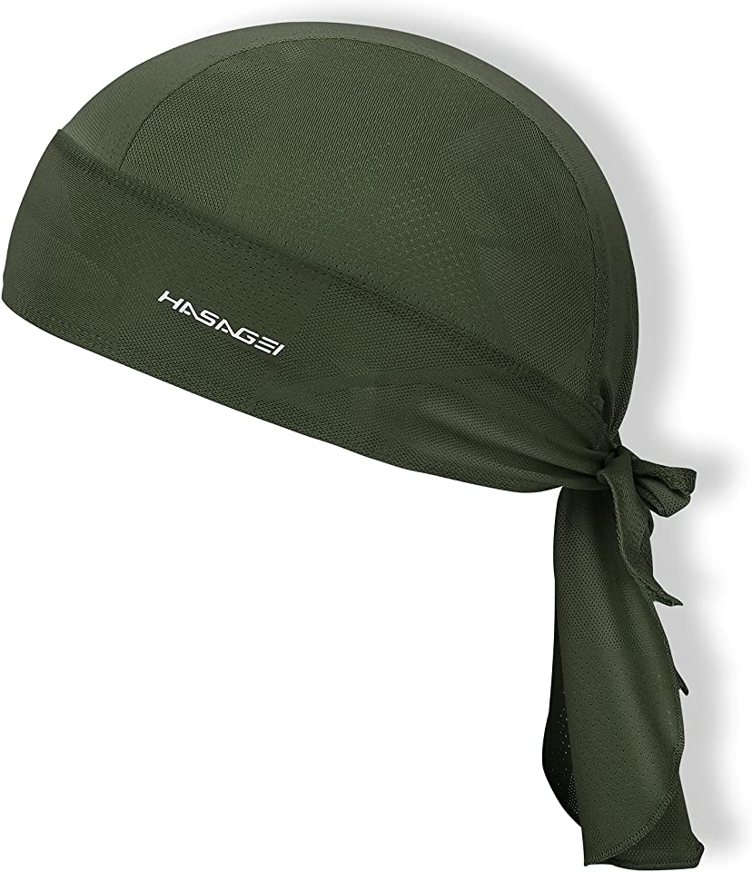 Sports Bandana Cap Durag Bandana Kopftuch Fahrrad Kopfbedeckung Atmungsaktiv nimmt Schweiß auf Hat