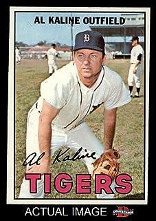 1967 Topps # 30 Al Kaline Detroit Tigers (Baseball Card) Dean`s Cards 5 - EX Tigers