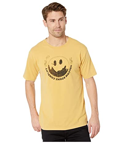 Volcom Fake Smile Short Sleeve Tee (Gold) Men