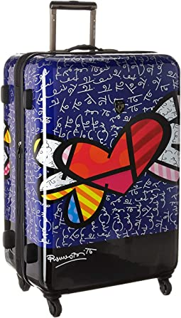 "Britto Heart with Wings 30"" Spinner"