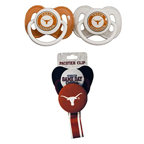 NEW Game Day Outfitters Lil Horns Fan University of Texas 2 Pack Bibs