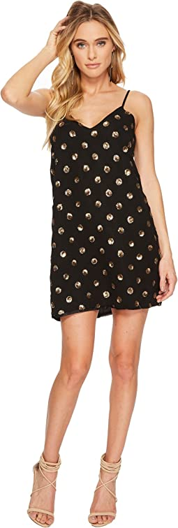 Jack by BB Dakota Hollis Sequin Dot Slip Dress